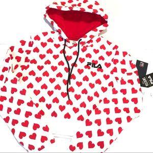 Fila x Disney Villains Hoodie Sweatshirt XS NWT